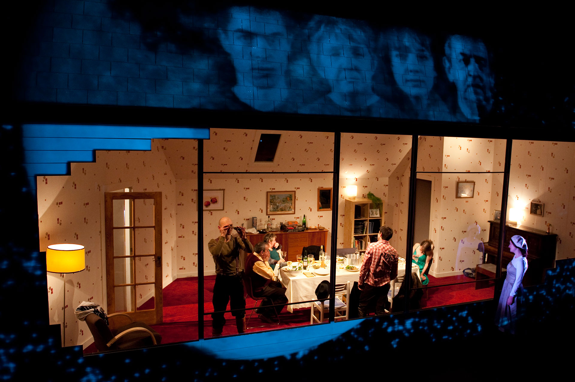 Interiors production shot