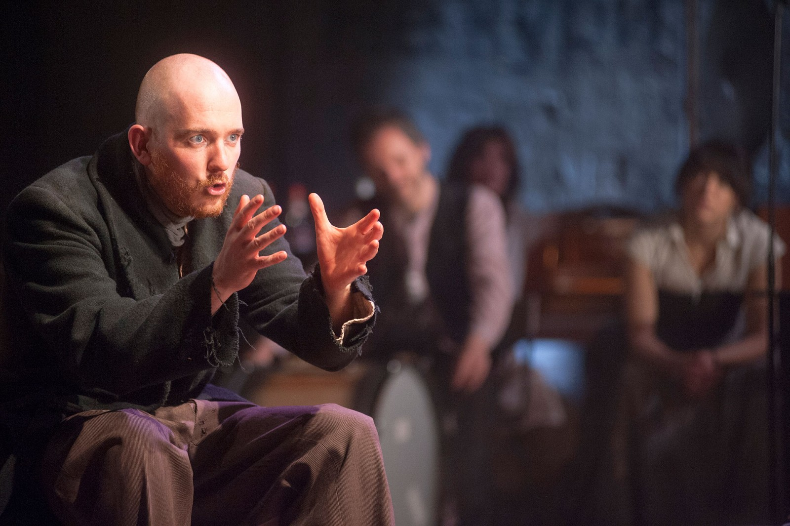 Production photos from the great new show at The Citizens theatre.