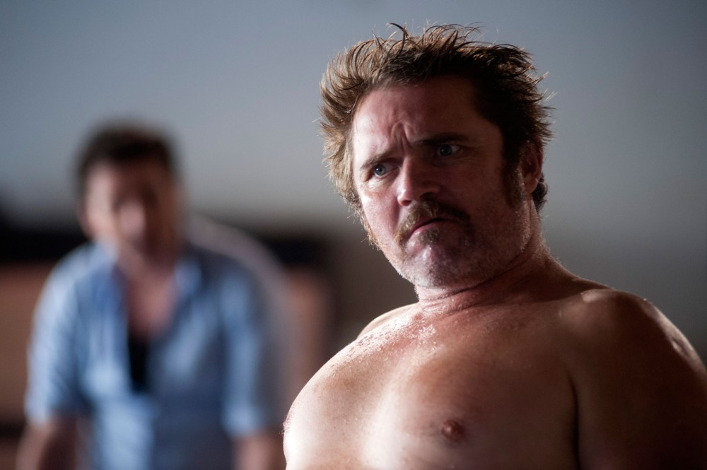 Alex Ferns in rehearsals for True West at the Citizens theatre