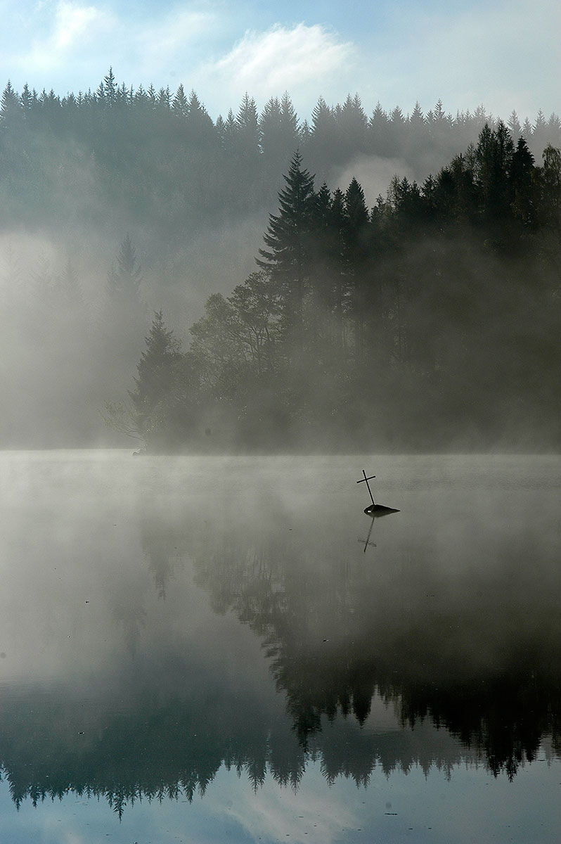 I think this is Loch Ard but I could be mistaken