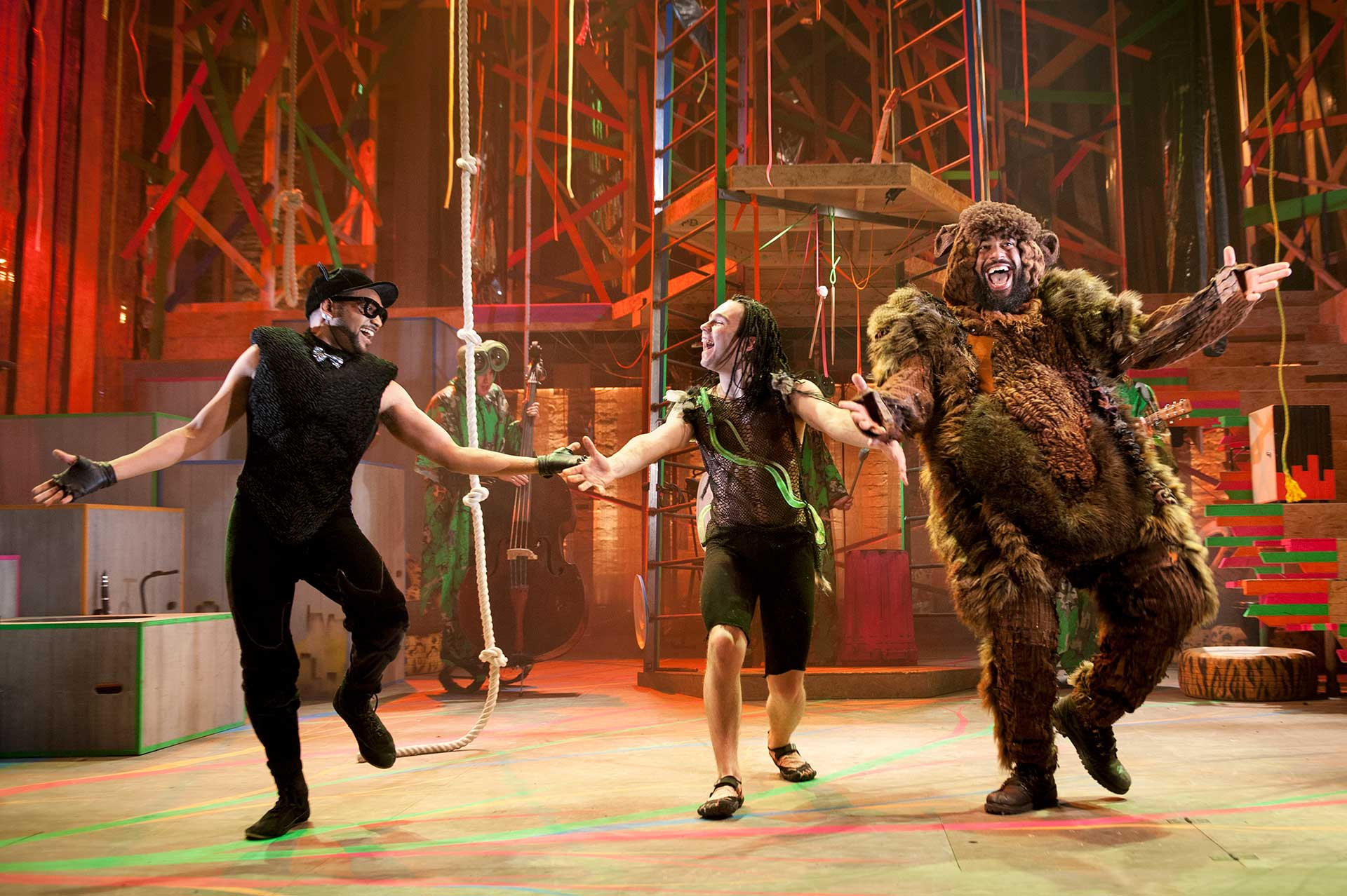 Production photos from the 2013 Christmas show at the citizens theatre by Nikolai Foster<br /> <br /> <br /> <br />