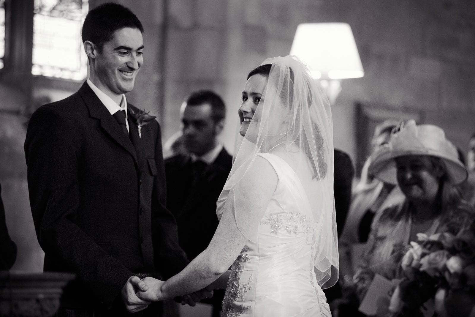 Crichton church wedding photography