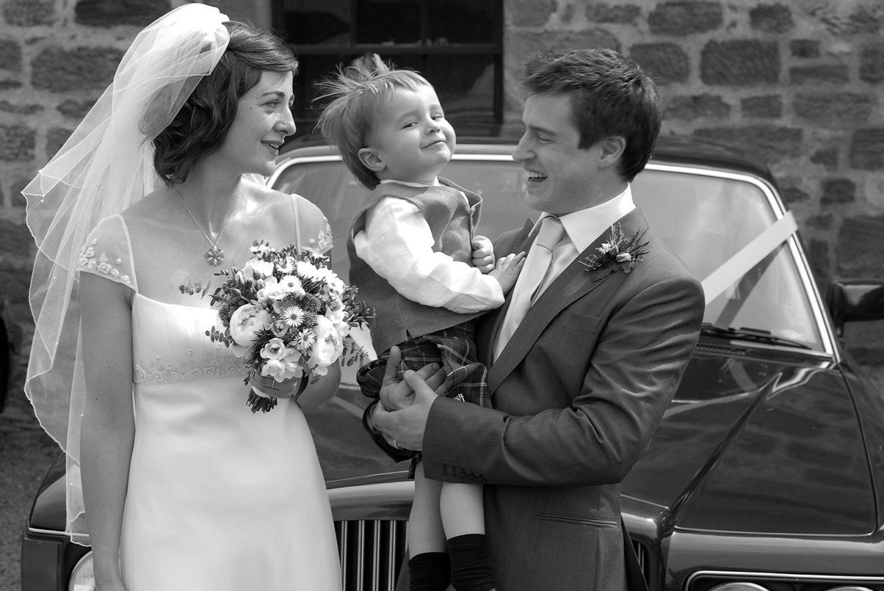 Roslyn Chapel reportage wedding photography