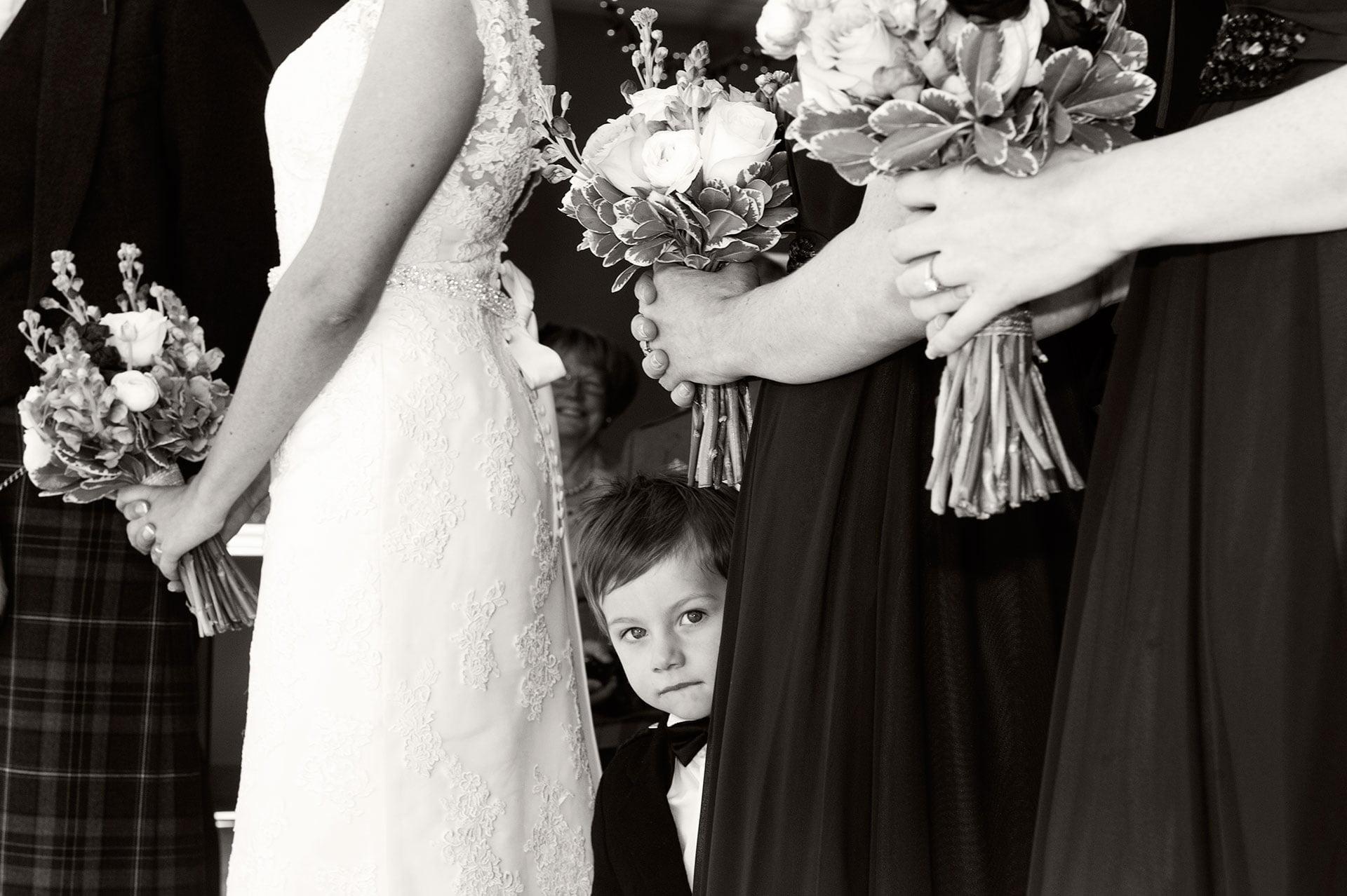 The Page boy - Loch Lomond Wedding