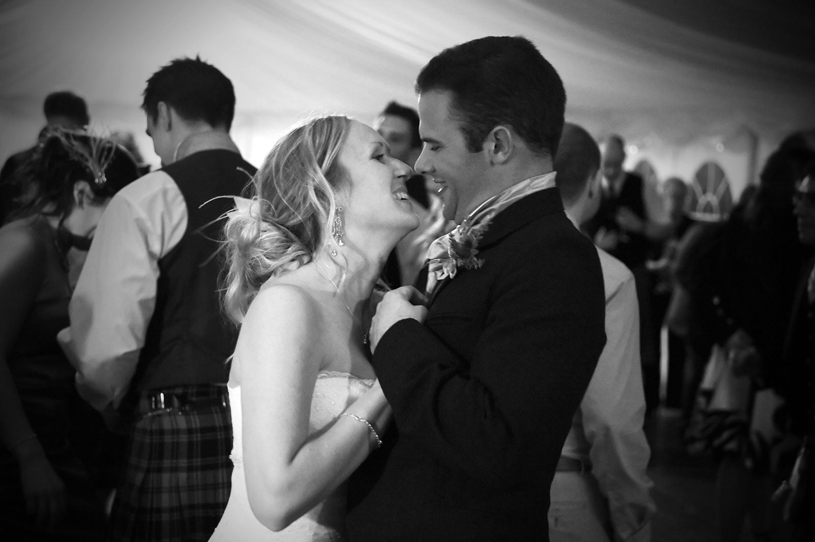 Cupar wedding - Angie and Irvine