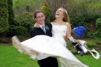 Univesity of Glasgow Wedding photography