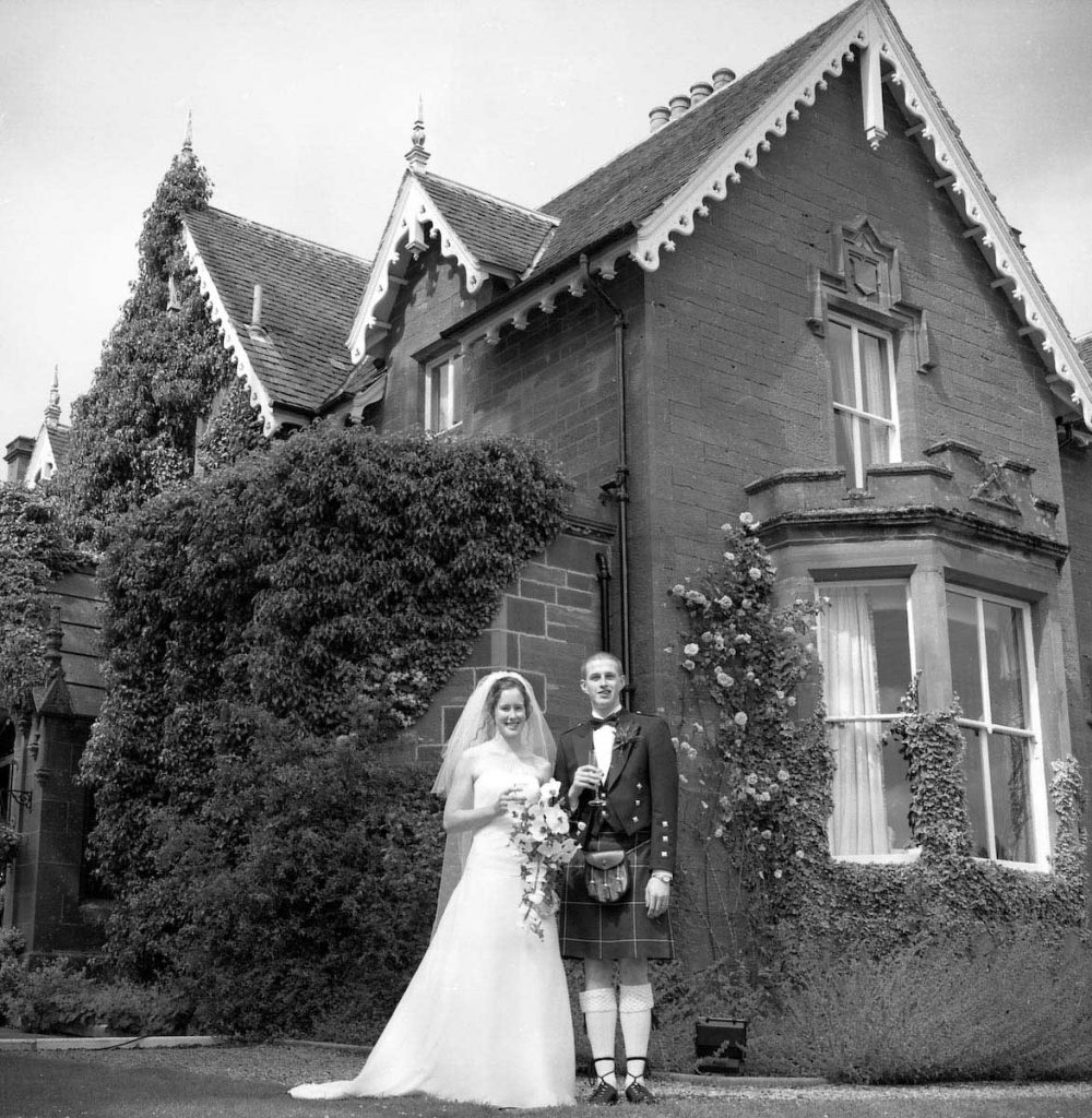 Cortachy Angus wedding photography