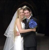 Glasgow Uni Chapel wedding photography