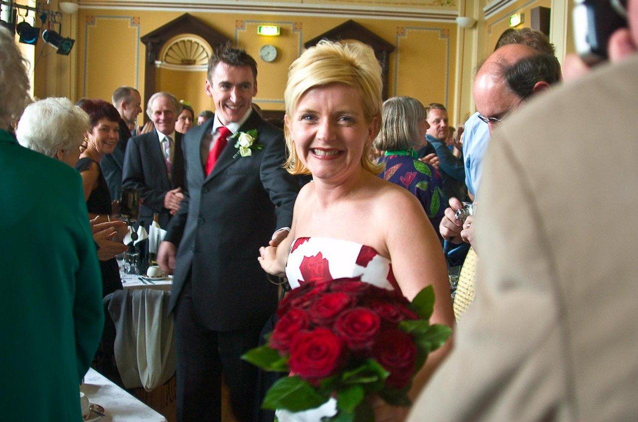 Kirkwall wedding, Orkney