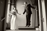 Park Circus registry office wedding photography