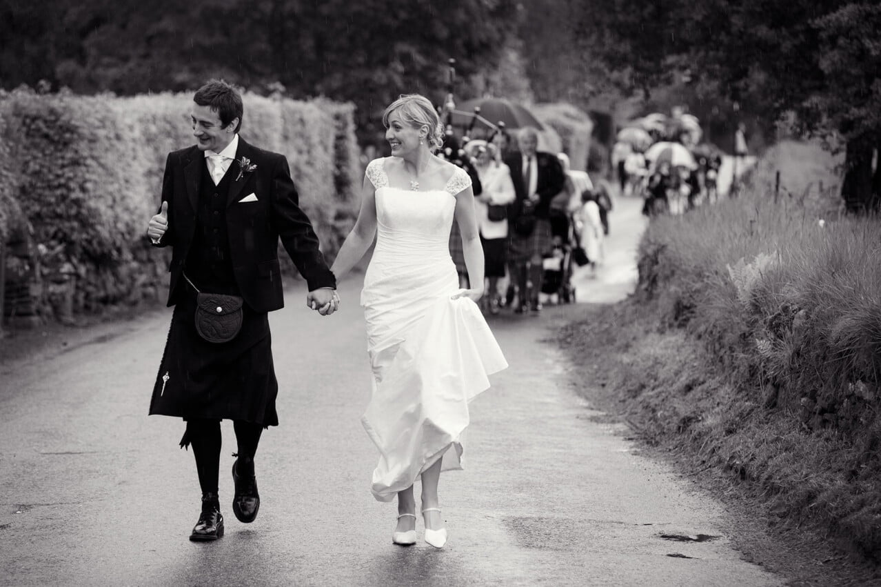 Fortinghall wedding photography