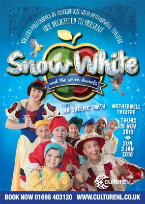 Snow White Motherwell theatre event photography