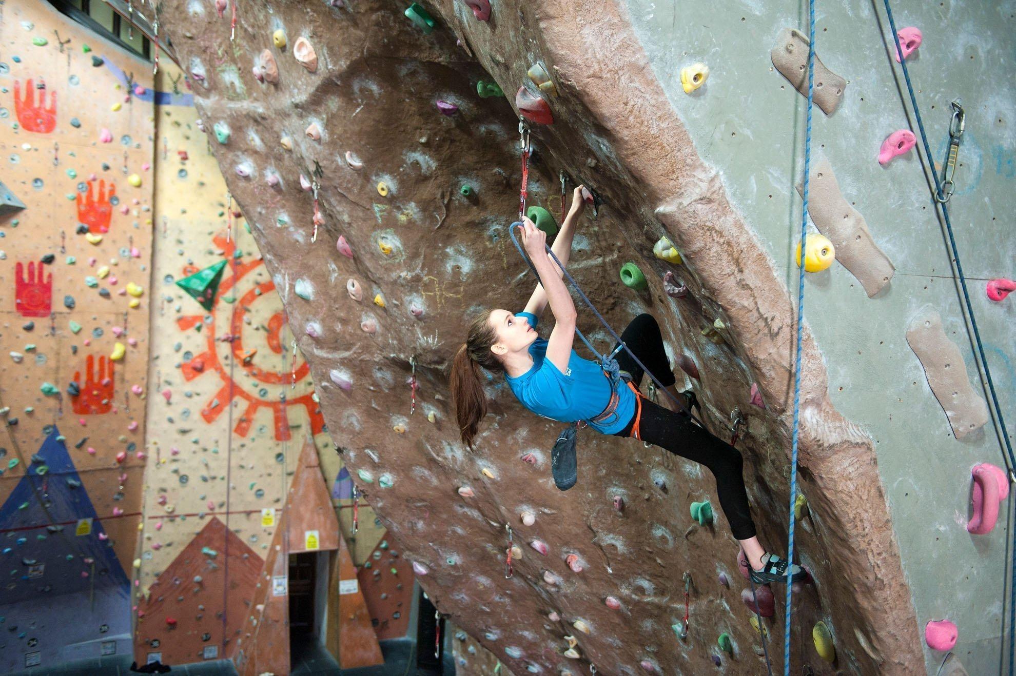 Glasgow Climbing Centre - event photography - promo shots