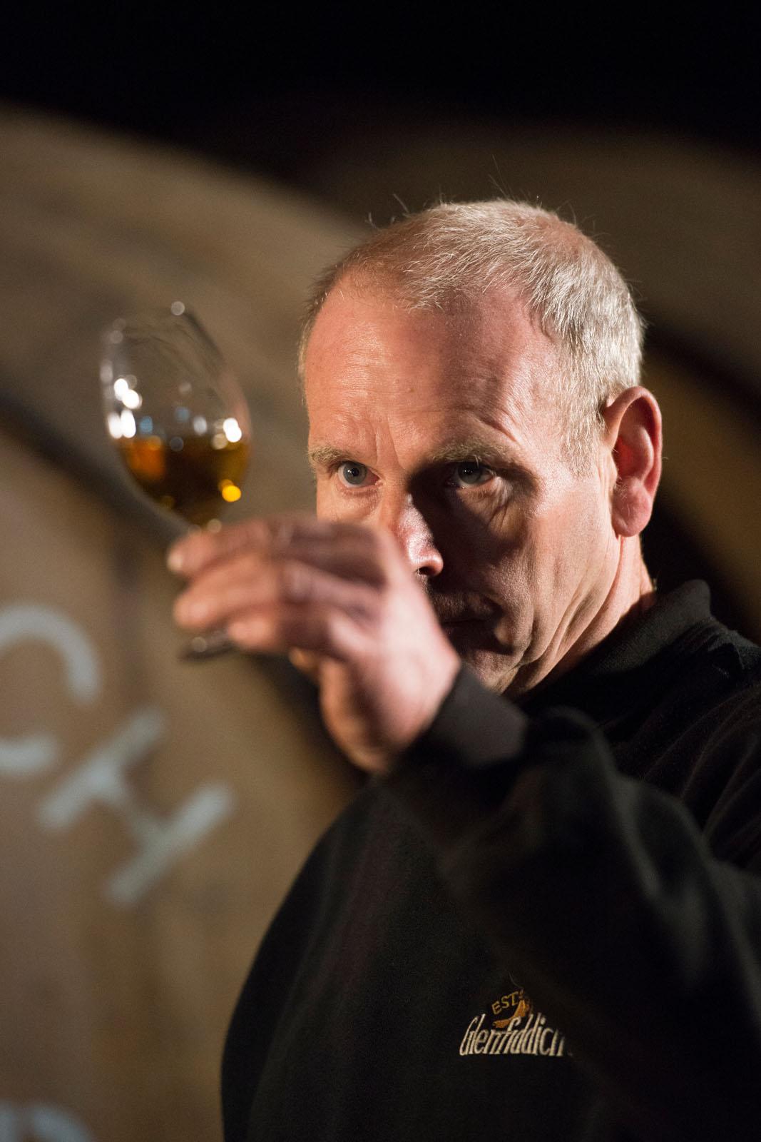 Glenfiddich distillery tasting