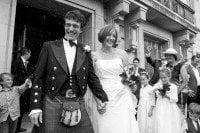 Hackney Town Hall Wedding - Confetti