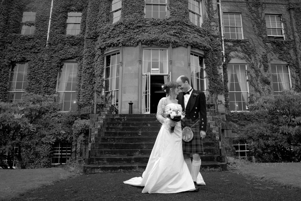 St Silas Wedding - Glasgow - Lena and Torquil